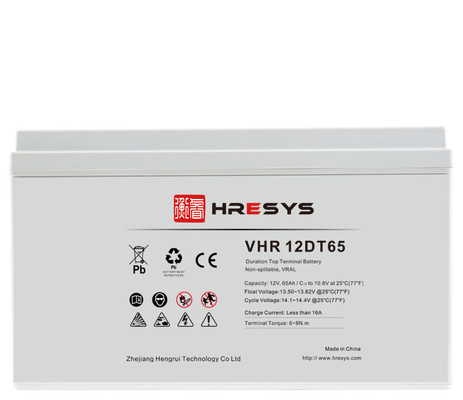 High Capacity 12v UPS Battery , Valve Regulated Lead Acid Battery For Telecom