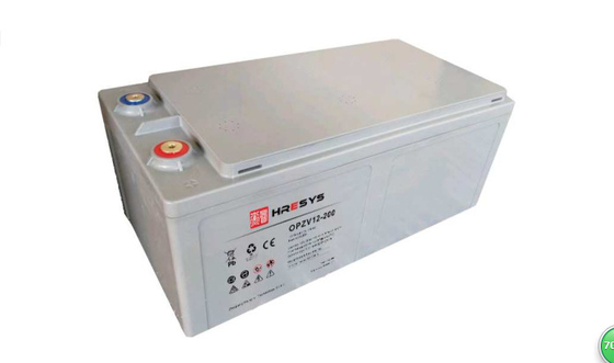 OPzV12-200 Telecom Battery For Renewable Energy System 200 Ah 74 Kg